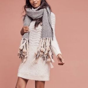SLEEPING ON SNOW Shelby Eyelash Sweater Dress XS
